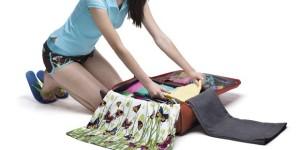organizando mala de viagem