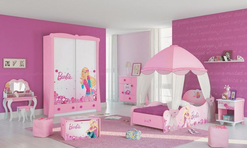 Quartos decorados como fazer decora o do quarto for Cuartos para nina de 4 anos